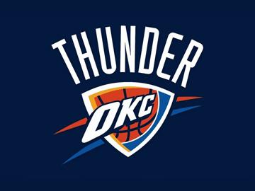 the miserable Oklahoma Thunder logo design